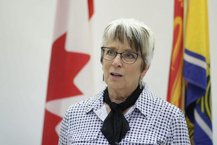 La ministre provinciale des Finances, Cathy Rogers. - Acadie Nouvelle: Patrick Lacelle