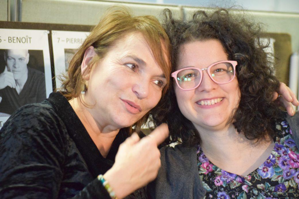 Lyne Charlebois et Emmanuelle Landry coréalisent la série Conséquences. - Acadie Nouvelle: Sylvie Mousseau
