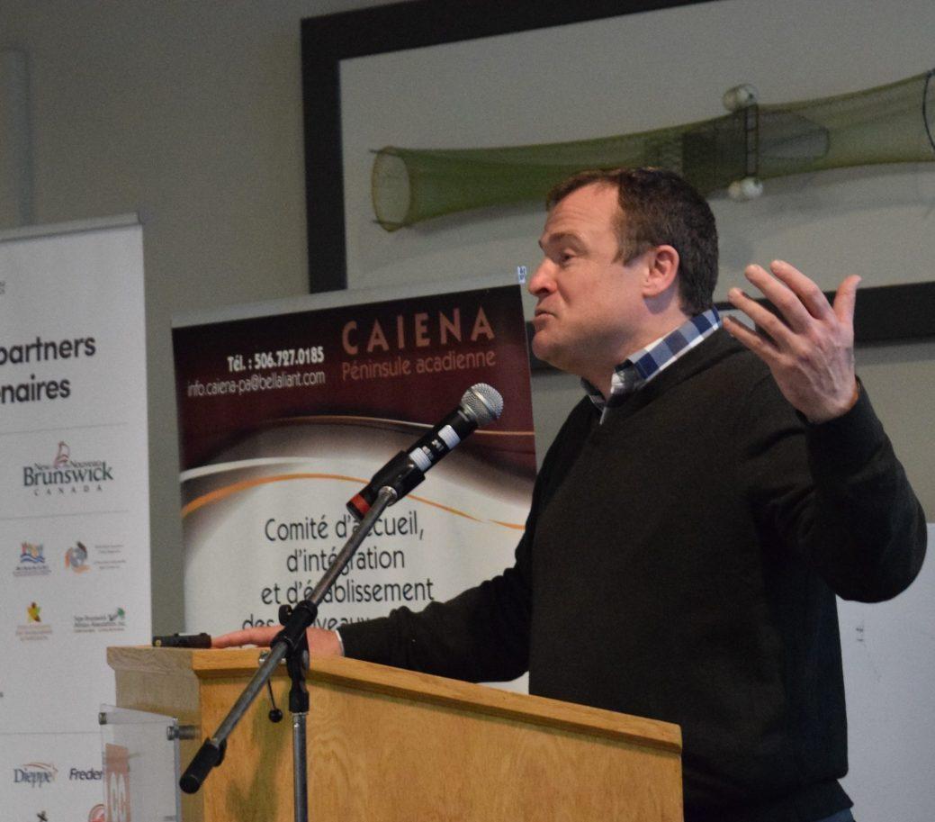 L'économiste et analyste Richard Saillant. - Acadie Nouvelle: David Caron