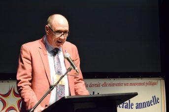 Robert Melanson, nouveau président de la SANB. - Acadie Nouvelle: David Caron