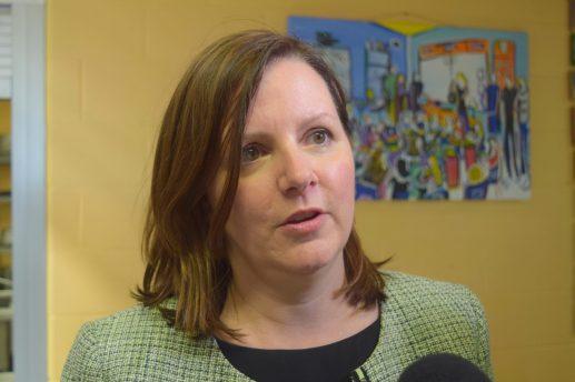 La médecin-hygiéniste en chef du Nouveau-Brunswick, Jennifer Russell. - Acadie Nouvelle:Mathieu Roy-Comeau