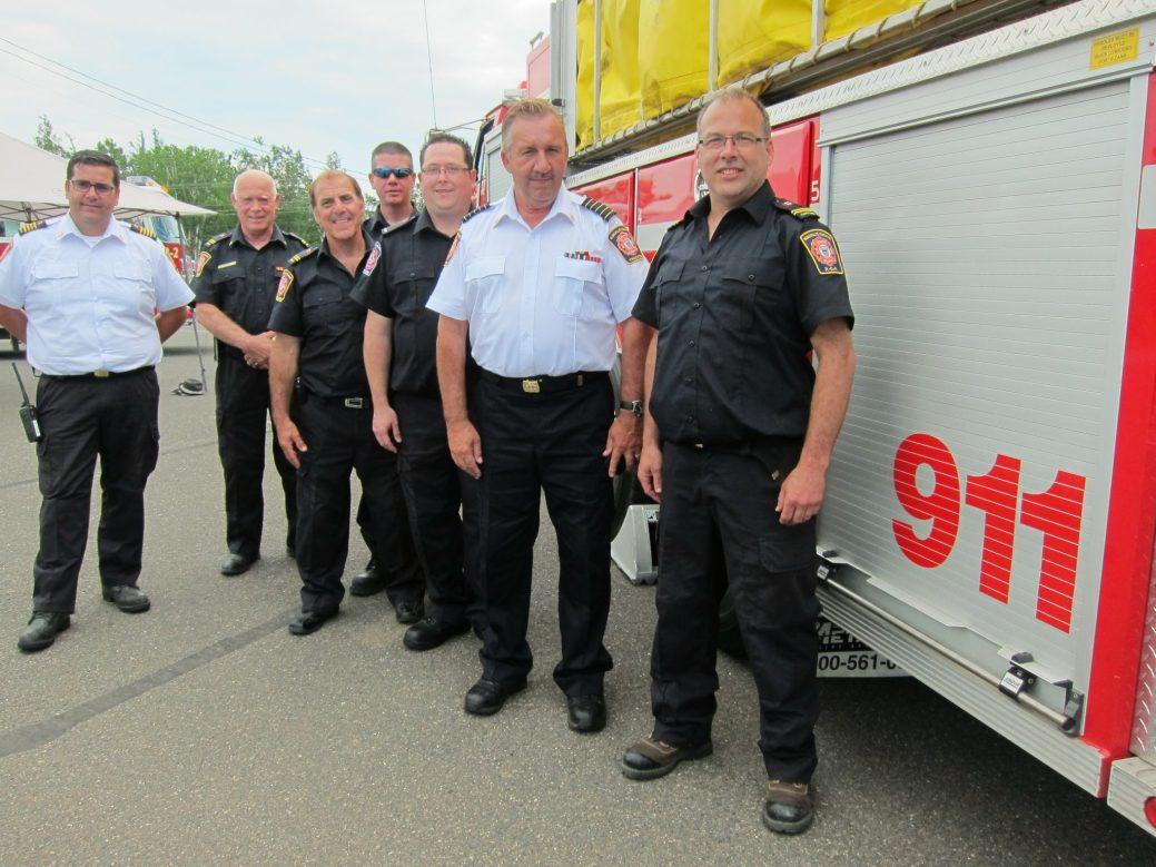 Les pompiers de Tracadie recrutent de nouveaux volontaires en vue de la construction de la troisième caserne dans le secteur de Sainte-Rose, Four Roads et Six Roads. - Acadie Nouvelle: Vincent Pichard