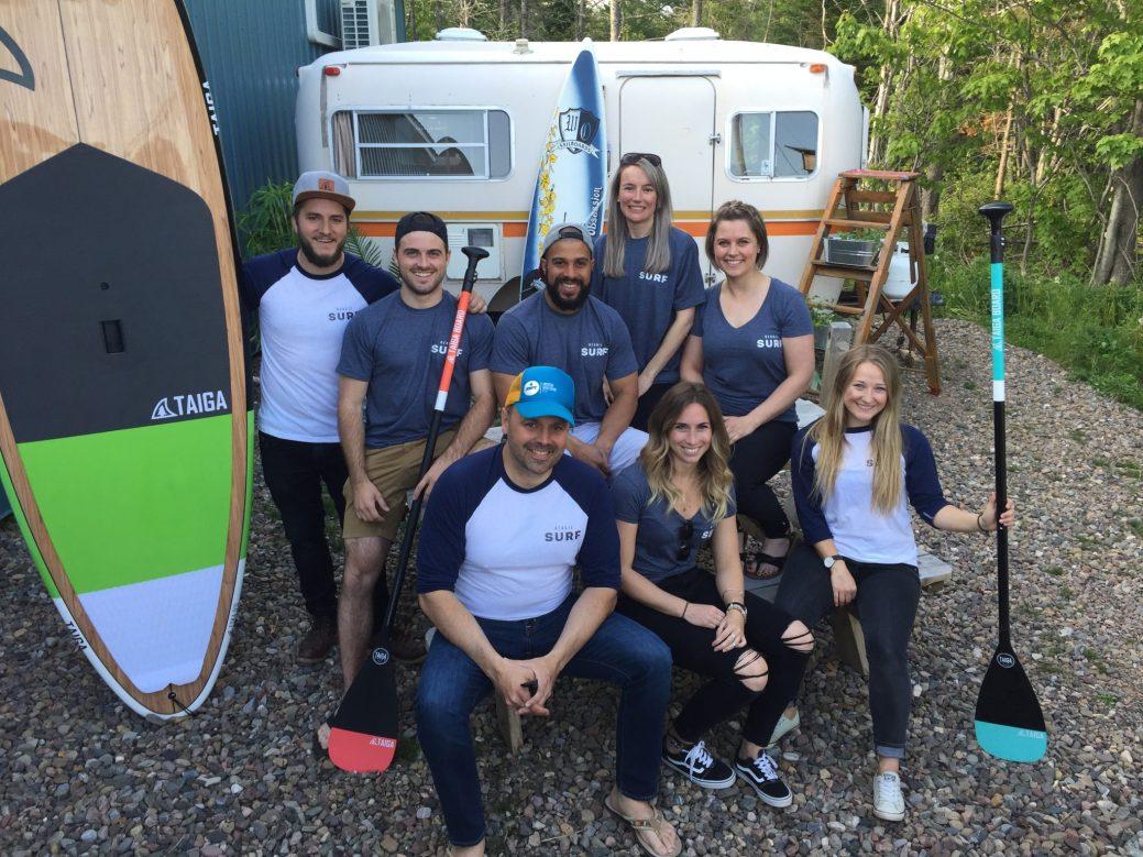 Les fondateurs de l'association Acadie Surf veulent populariser le Beach Life Style, dans la Péninsule. - Acadie Nouvelle: Vincent Pichard