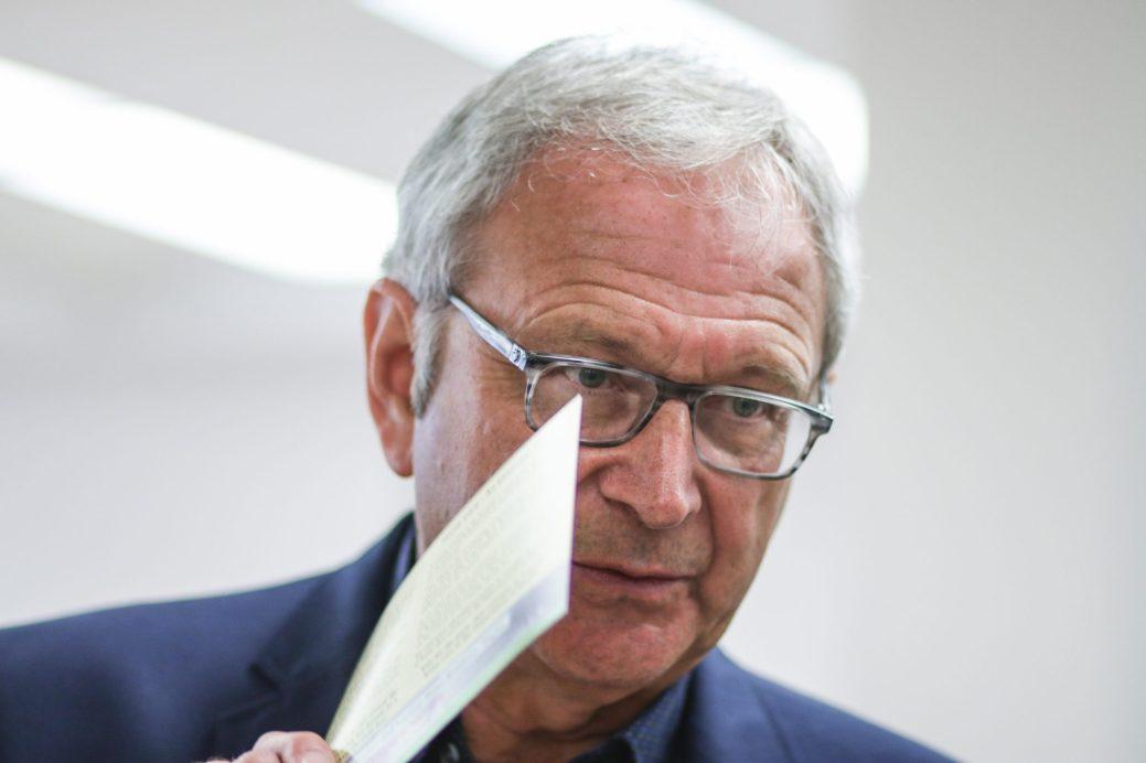 Le chef progressiste-conservateur, Blaine Higgs. - Archives