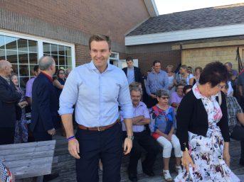 Quatre jours avant le lancement officiel de la campagne électorale, le premier ministre Brian Gallant ouvre la voie, bien décidé à faire la course en tête jusqu'au bout. - Acadie Nouvelle: Vincent Pichard