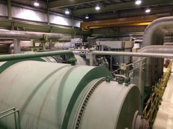 L'usine Twin Rivers d'Edmundston est dotée d'installations imposantes et impressionnantes. - Acadie Nouvelle: Sébastien Lachance
