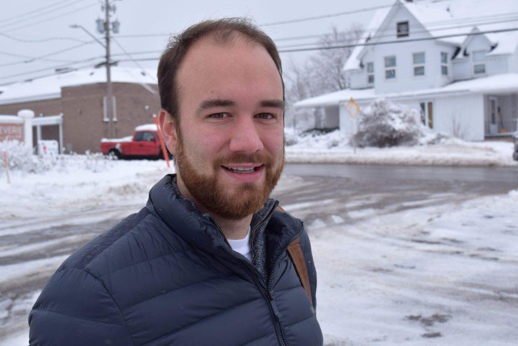 L'étudiant Mathieu Lemieux, originaire du DSL de Saint-Jacques. - Acadie Nouvelle: Pascal Raiche-Nogue