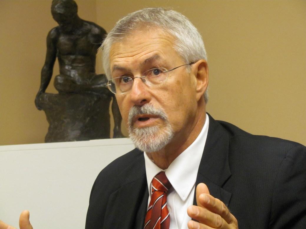 Le commissaire aux langues officielles du N.-B., Michel Carrier. - Archives