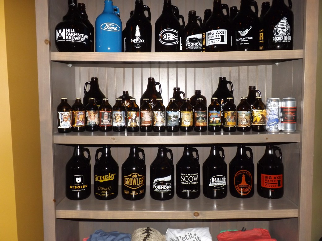 Une trentaine de bières classiques et saisonnières ont été brassées depuis l'ouverture de l'entreprise en 2014. - Acadie Nouvelle