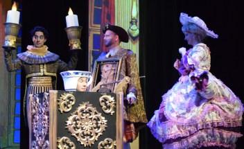Les comédiens-chanteurs de la comédie musicale La Belle et la Bête en répétition au Théâtre Capitol. - Acadie Nouvelle: Sylvie Mousseau