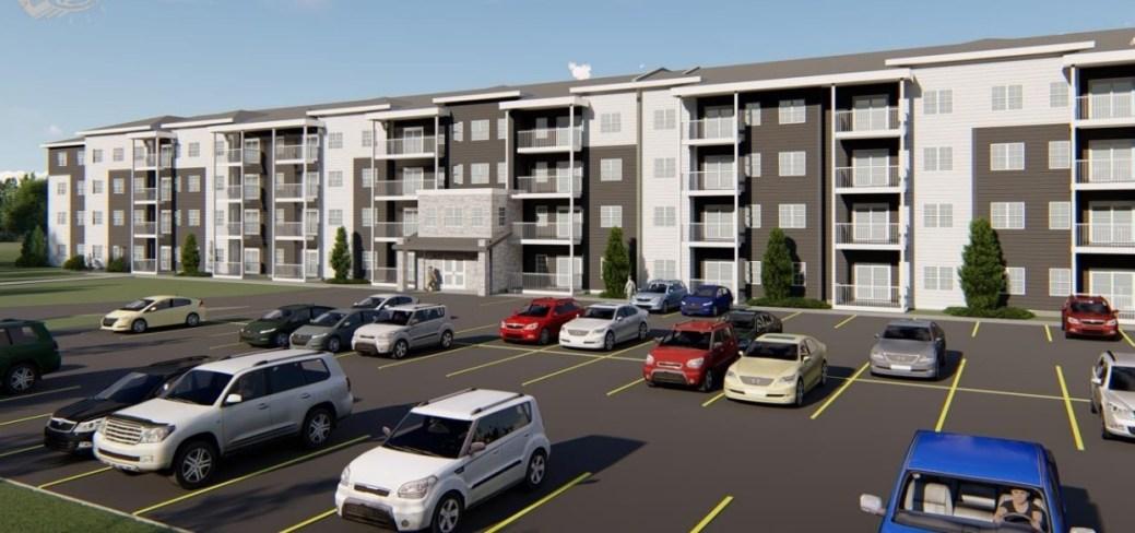 Un aperçu du projet conçu par la fime A.T.M.J Properties. - Gracieuseté