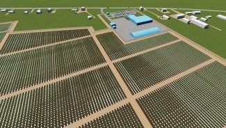 Un aperçu du projet d'exploitation à Cap-Pelé. - Gracieuseté