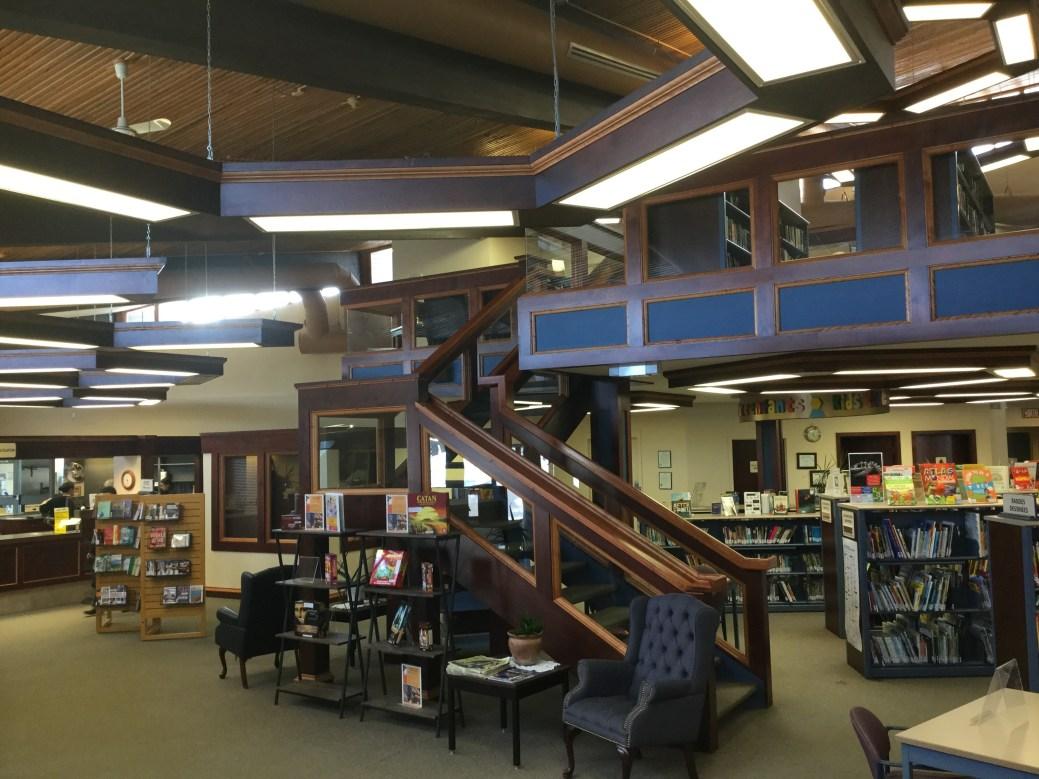 La Bibliothèque Mgr-W.-J.-Conway d'Edmundston. - Gracieuseté