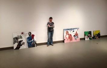 Sylvie Pilotte présente son exposition Déraisonance dans plusieurs villes du Nouveau-Brunswick. - Gracieuseté