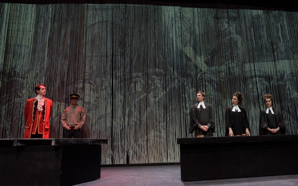 Une scène de la pièce Winslow. - Photo: Emmanuel Albert