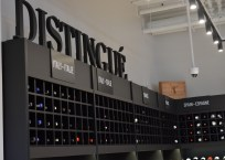 La section «Distingué» offre des vins à prix élevé.