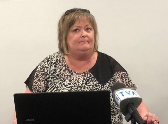 Joanne Fortin, la présidente du CACRO. - Acadie Nouvelle: Sébastien Lachance