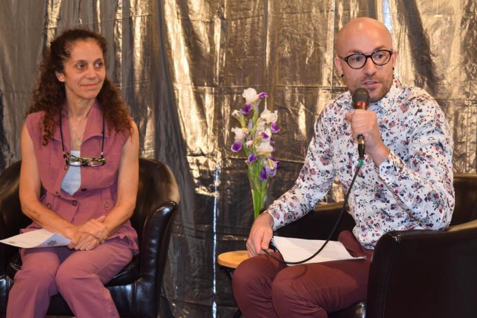 Chantal Cadieux et Mitch Thibault ont dévoilé la programmation du 14e Festival de danse en Atlantique. - Acadie Nouvelle: Sylvie Mousseau