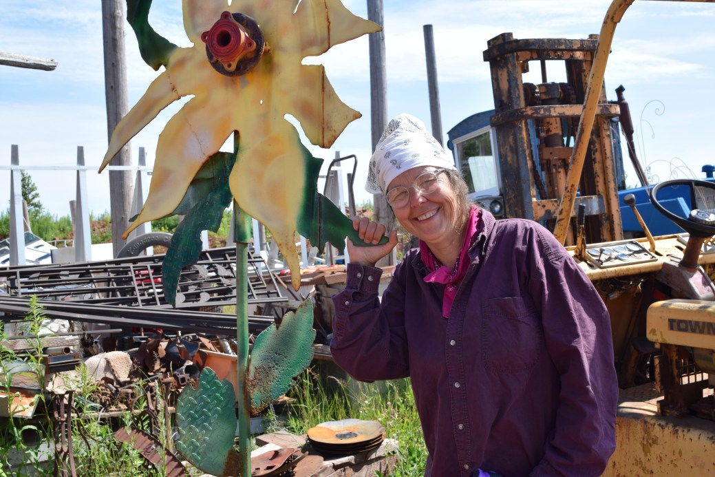 Lucie Bellemare admire la résilience de la communauté acadienne de l'île. - Acadie Nouvelle: Simon Delattre