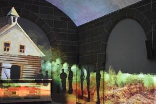Le spectacle immersif de la cathédrale numérique raconte l'histoire de la vie de Mgr Melanson. - Acadie Nouvelle: Lili Mercure