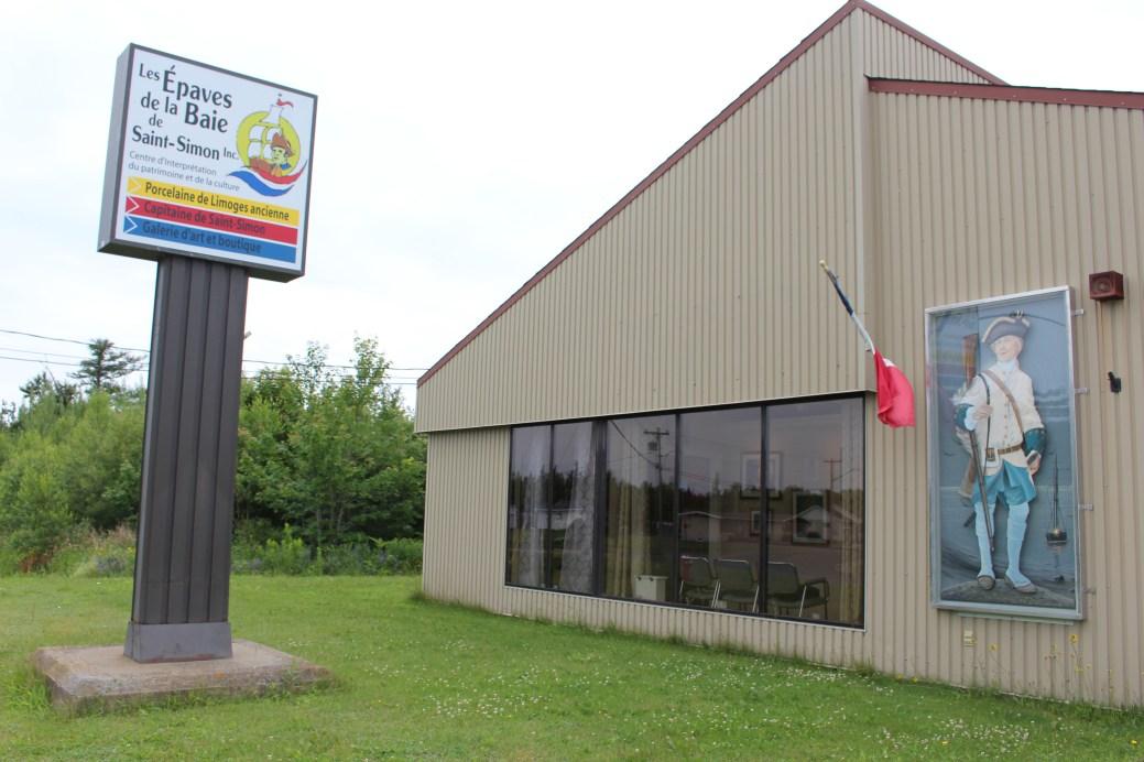 Le musée consacré au corsaire Antoine Charles-Denys de Saint-Simon. - Acadie Nouvelle: Réal Fradette