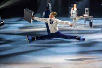 Shawn Sawyer en pleine action dans le spectacle Crystal du Cirque du Soleil. - Gracieuseté: Matt Beard, Cirque du Soleil