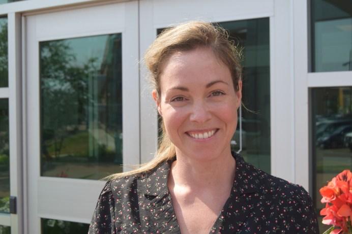 Catherine Clusiau, agente de communication à la ville de Dieppe. - Acadie Nouvelle: Édouard Merlo