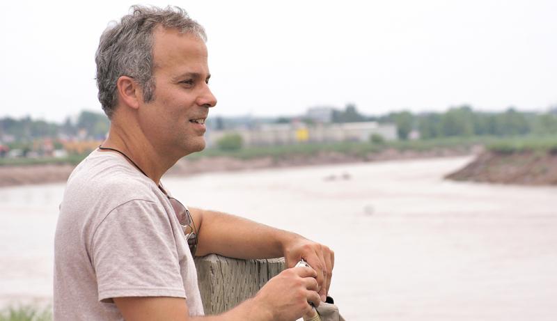 Daniel LeBlanc, ancienne sentinelle de la Petitcodiac, a milité pendant des années en faveur de la restauration du cours d'eau. - Archives