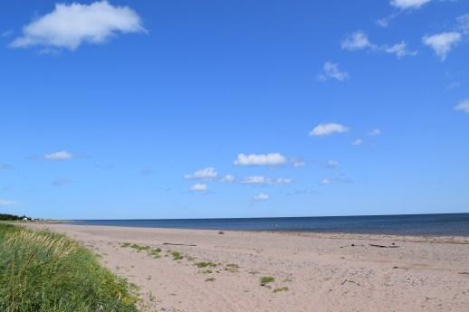 La plage de Four Roads, dans la Municipalité régionale de Tracadie.-Acadie Nouvelle: David Caron