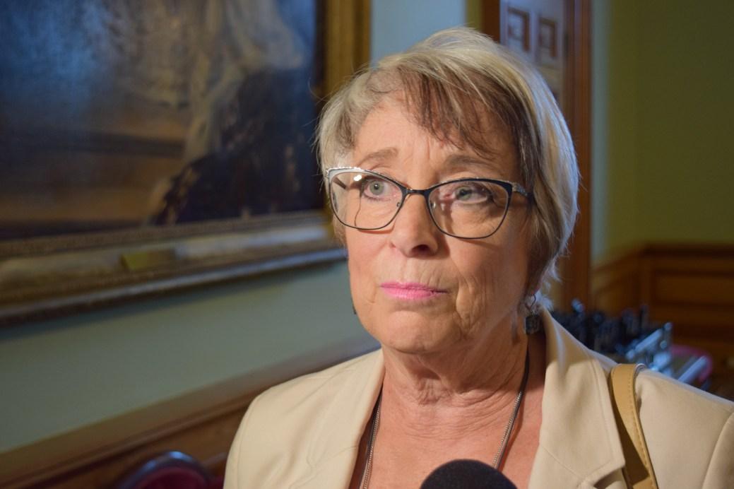 La députée libérale Cathy Roger. - Acadie Nouvelle: Mathieu Roy-Comeau