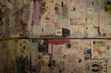 Une partie du diptyque d'Anna Torma présenté à la Galerie Louise-et-Reuben-Cohen dans le cadre de l'exposition Les histoires nécessaires. - Acadie Nouvelle: Sylvie Mousseau