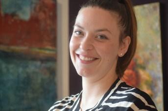 La propriétaire de la galerie Apple Art, Nausika Breau. - Acadie Nouvelle: Sylvie Mousseau