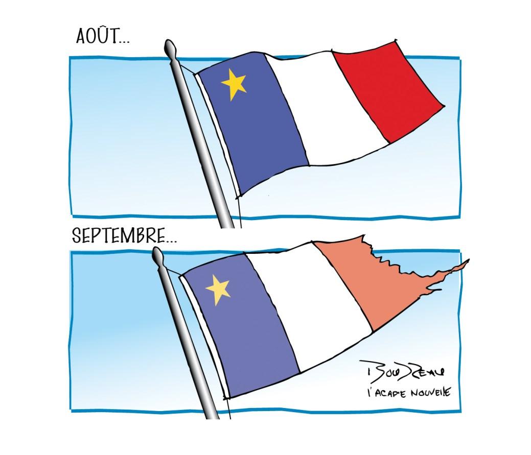 Caricature, 5 septembre 2019