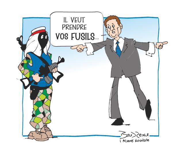 Caricature, 26 septembre 2019