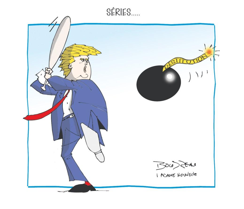 Caricature, 10 octobre 2019