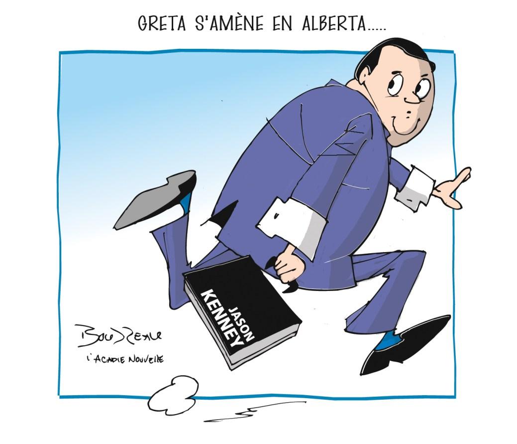 Caricature, 18 octobre 2019