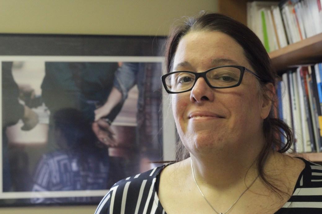 Marie-Andrée Pelland dirige le département de sociologie et de criminologie à l'Université de Moncton. - Acadie Nouvelle: Cédric Thévenin