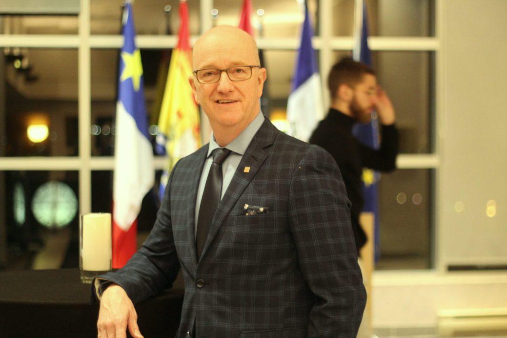 Gérald Arseneault, président de l'Association des enseignantes et des enseignants francophones du Nouveau-Brunswick . - Acadie Nouvelle: Simon Delattre