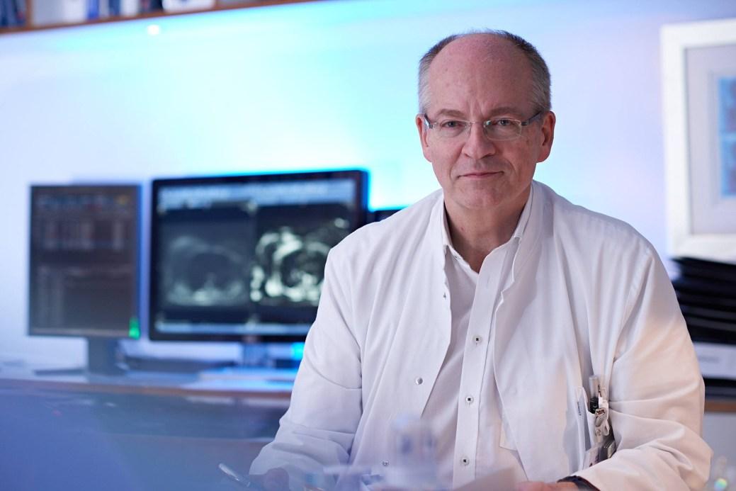 Dr Thomas Vogl, radiologiste à l'Hôpital universitaire Goethe de Francfort, en Allemagne. - Gracieuseté: Facebook