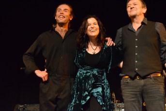 Le duo Sirène et Matelot a été chaleureusement applaudi par la foule à la FrancoFête en Acadie. Le duo est accompagné du pianiste Jérémie Gallant. Acadie Nouvelle: Sylvie Mousseau