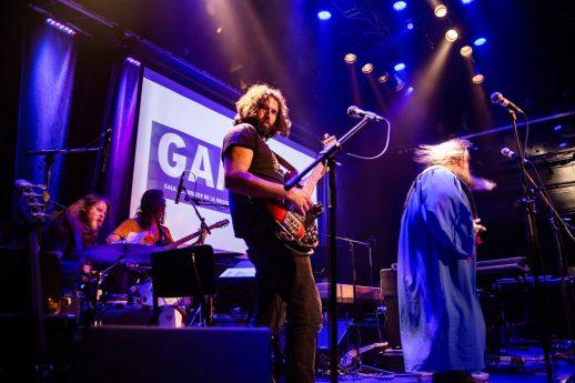 Les Hôtesses d'Hilaire en prestation au Gala GAMIQ à Montréal. - Gracieuseté: Camille Gladu-Drouin