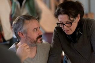 Denise Bouchard en compagne du comédien Pascal Lejeune lors du tournage du film Pour mieux t'aimer. - Gracieuseté: Emmanuel Albert
