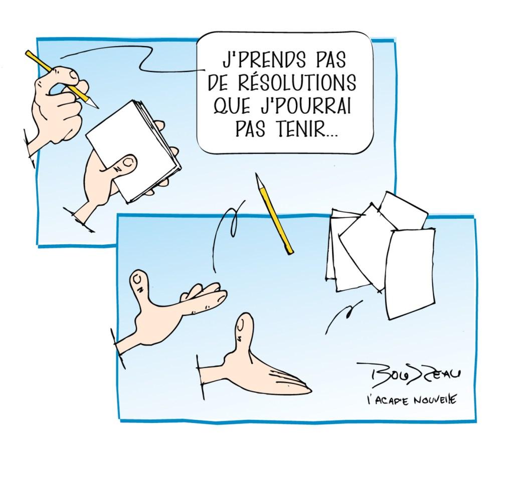 Caricature, 3 janvier 2020