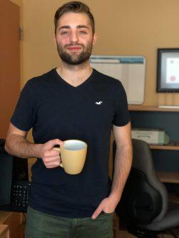Miguel Bryar, 24 ans, explique qu'il ne se sentait pas à sa place à Montréal. - Acadie Nouvelle: Allison Roy