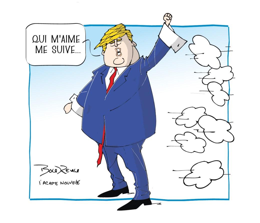 Caricature, 8 janvier 2020