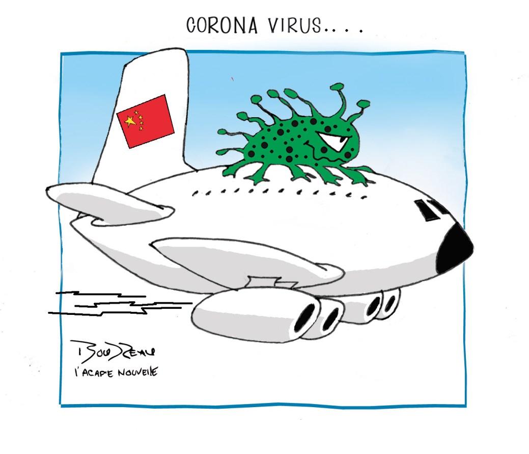 Caricature, 24 janvier 2020