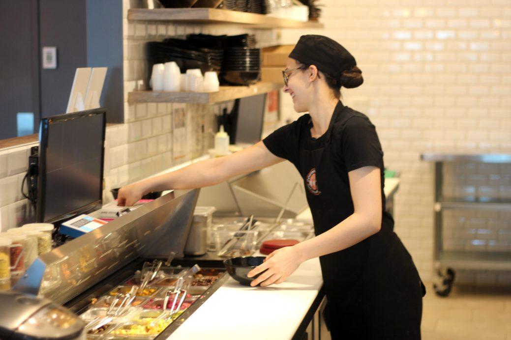 Le restaurant végan Copper Branch a connu un succès immédiat au centre-ville de Dieppe. - Acadie Nouvelle: Simon Delattre