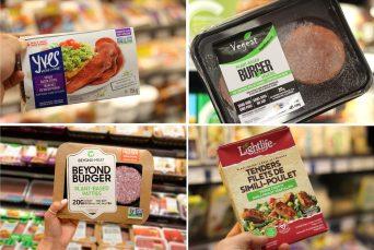 Quelques produits végétaliens disponibles dans les épiceries néo-brunswickoises. - Acadie Nouvelle: Simon Delattre