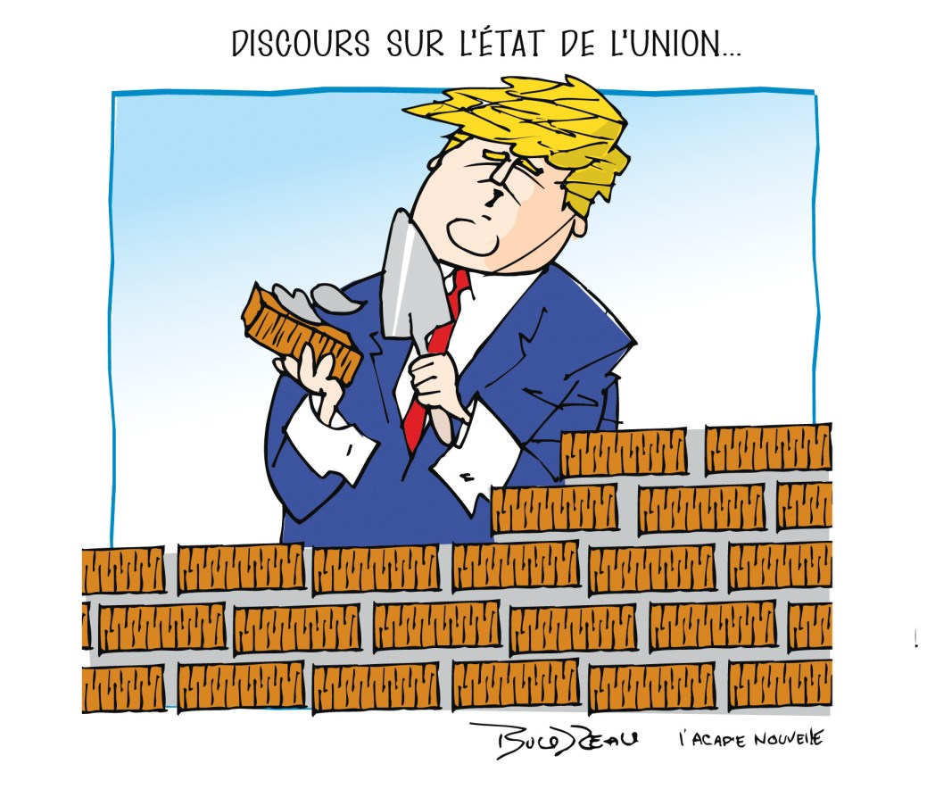 Caricature, 6 février 2020