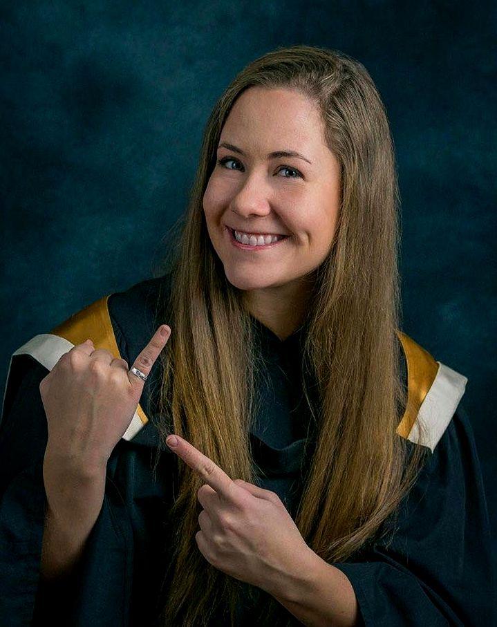Nicole Landry affirme qu'elle a toujours eu un intérêt inné pour la science de l'ingénierie. - Gracieuseté